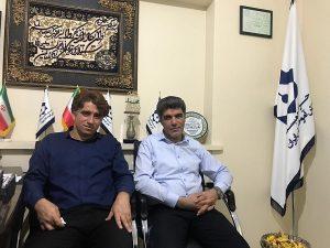 دیدار با سرپرست بوشهر