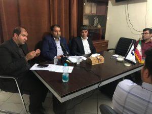 جلسه شورایاری ها در دفتر حزب هدا